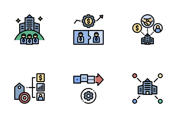 Corporate And Brand Management Icon Pack