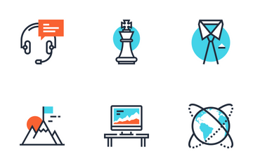 Corporate Business Icon Pack