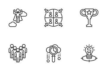Corporate Development Icon Pack