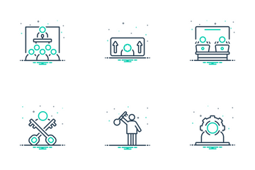 Corporate Management Icon Pack