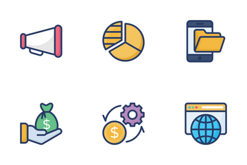 Corporate Management, Teamwork Icon Pack