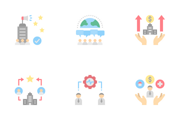 Corporate Social Responsibility Icon Pack
