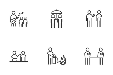 Corporate Social Responsibility (CSR) Icon Pack