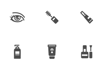 Cosmetic And Beauty Icon Pack