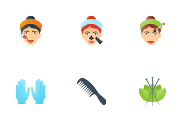 Cosmetic Ingredients Icon Pack