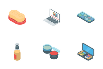Cosmetic Products Icon Pack