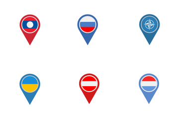Country Pointers Icon Pack