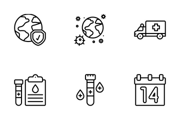 Covid 19 Icon Pack