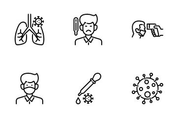 Covid -19 And Corona Virus Icon Pack