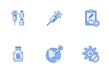 Covid-19 Vaccine Icon Pack