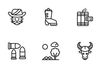 Cowboy Elements Icon Pack