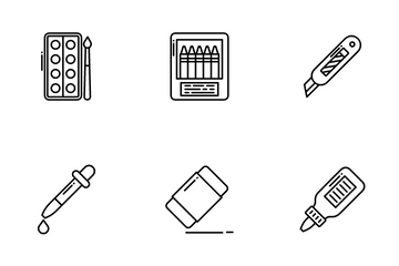Craft And Tools Icon Pack