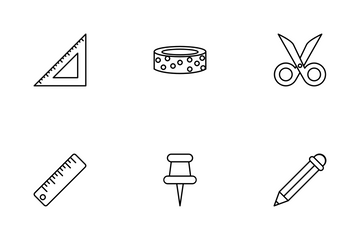 Craft Supplies Icon Pack