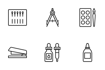 Crafts And Drafts Icon Pack