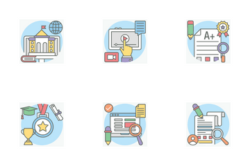 Creative And E Learning Icon Pack