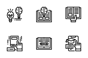 Creative And Learning Icon Pack