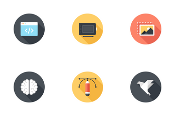 Creative Process Icon Pack