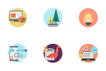 Creative Process Icon Icon Pack