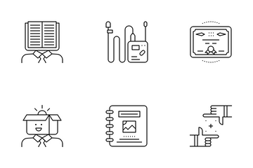 Creative Thinking Icon Pack