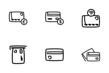 Credit Card - Outline Icon Pack