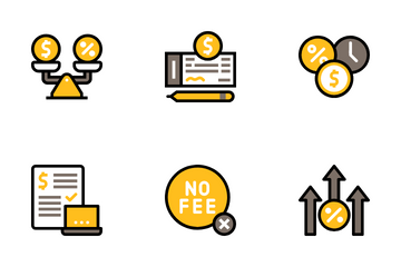 Credit Loan Icon Pack