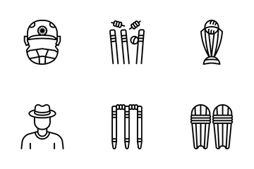 Cricket Icon Pack