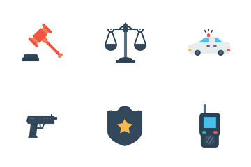 Crime And Security Icon Pack
