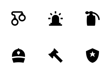 Crime And Security Vol 1 Icon Pack