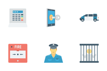 Crime And Security Vol 2 Icon Pack