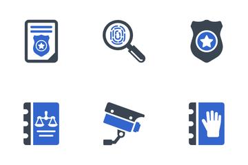 Crime Investigation Icon Pack