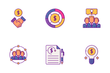 Crowdfunding Icon Pack