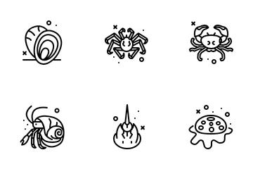 Crustacea Icon Pack