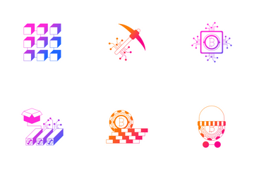 Crypto Currency - Bitcoin VOL.2 Icon Pack