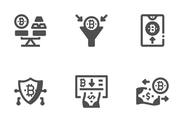 Cryptocurrency - Basic 1 Icon Pack