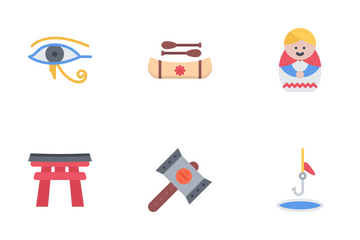 Culture Flat Icon Pack