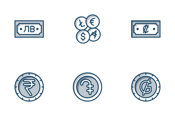 Currencies Icon Pack