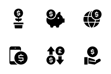 Currency And Financial Icon Pack