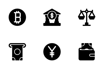 Currency And Money Icon Pack