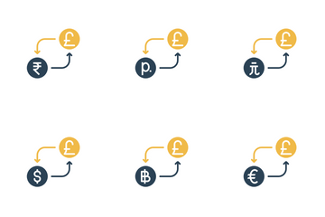 Currency Conversion - Pound Icon Pack