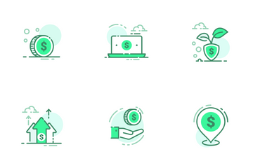 Currency Dollar Icon Pack