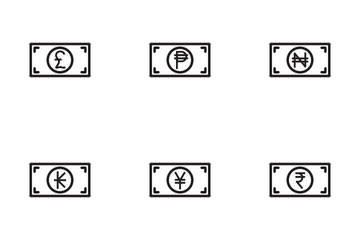 Currency Symbol Icon Pack