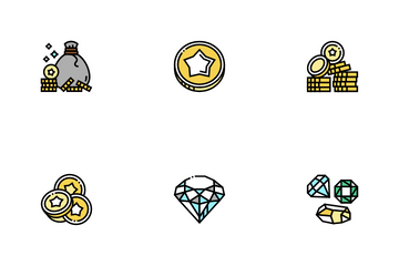 Currency Video Games Icon Pack