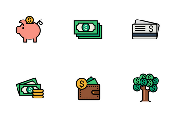 Currency Vol 1 Icon Pack