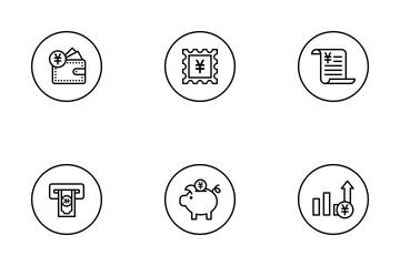 Currency Vol 2 Icon Pack