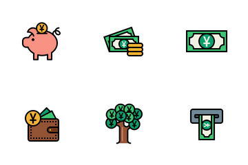 Currency Vol 3 Icon Pack