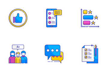 Customer Feedback Icon Pack