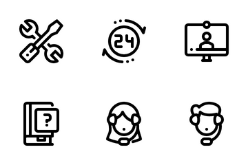 Customer Service Icon Pack