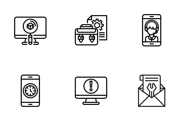 Customer Service And Feedback Icon Pack