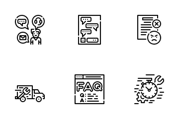 Customer Services Icon Pack