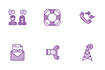 Customer Support  Icon Pack
